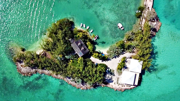 Regatta Point Aerials | Exuma, Bahamas.