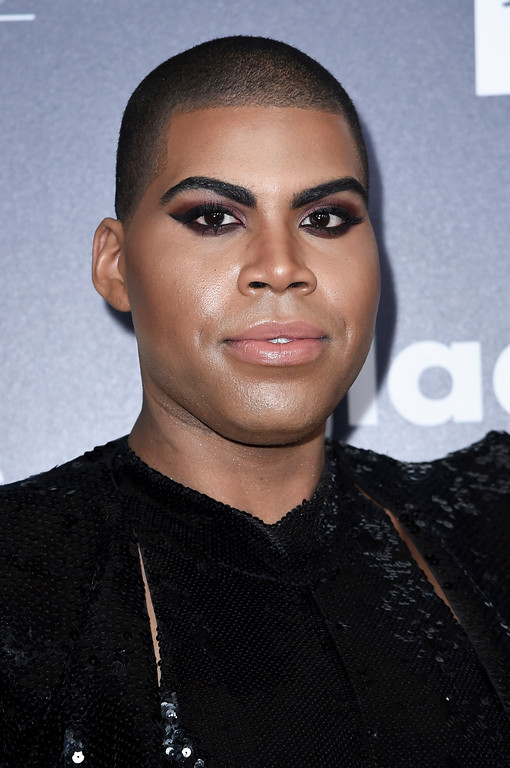 . EJ Johnson attends the 28th Annual GLAAD Media Awards at the Beverly Hilton Hotel on Saturday, April 1, 2017, in Beverly Hills, Calif. (Photo by Richard Shotwell/Invision/AP)
