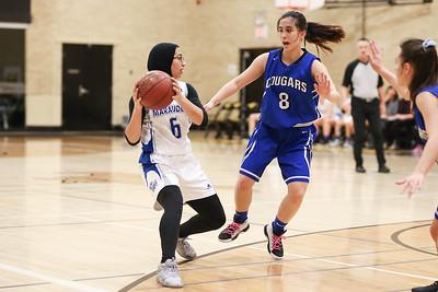 Girls Walter Murray vs Saskatoon Christian School (Nov 30)