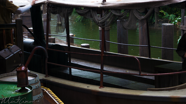 Disneyland Resort, Disneyland, Adventureland, Jungle, Cruise, Dock, Station