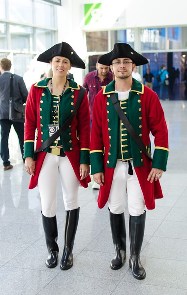 Assassins Creed models @ Gamescom 2012
