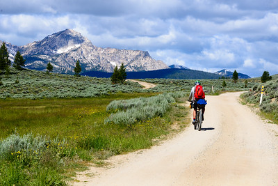 Idaho Hot Springs Mountain Bike Tour