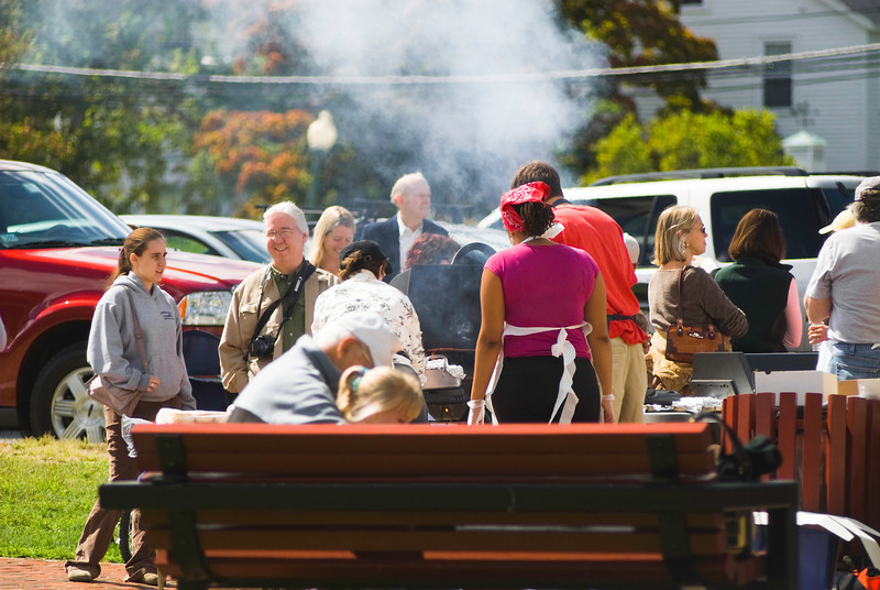 The Grill - Grilled meats cooked on demand for fairgoers...