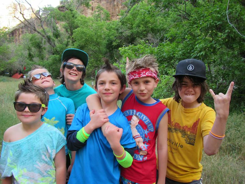 Boys rule the Camp!