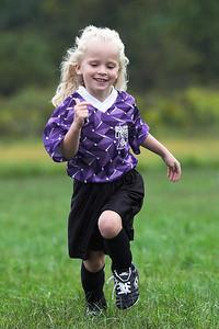Stephanie 1st Soccer Game