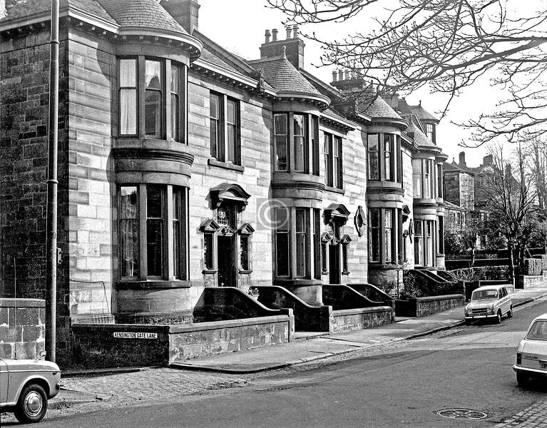 Lorraine Rd east side.  April 1975