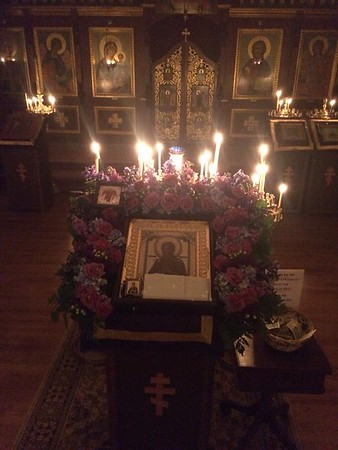 "Myrr Streaming Icon ""Softner of Evil Hearts"" Visits St Vladimir Parish"
