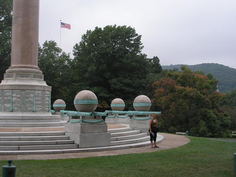 Base of Civil War Monument
