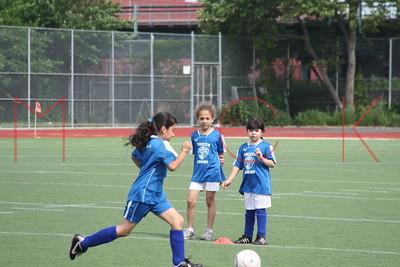 BROOKLYN - JUNE 06: Players compete at Brooklyn Italians Soccer Academy practice at John Dewey High School on Sunday, June 6, 2010 in Brooklyn, NY.