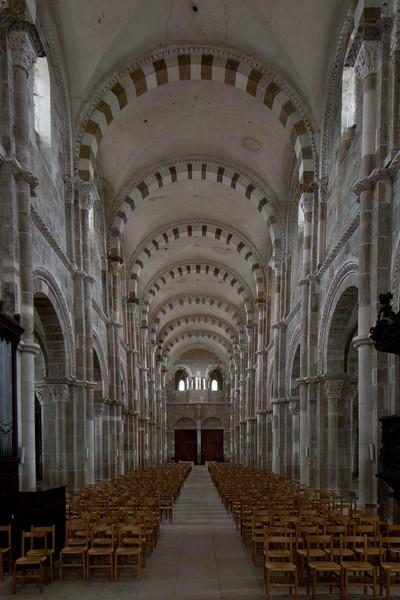 Vezelay Sainte-Madeleine Abbey Nave