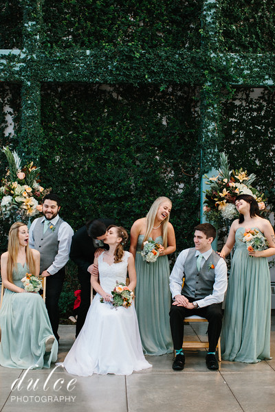 Bridal Party and Family Photos