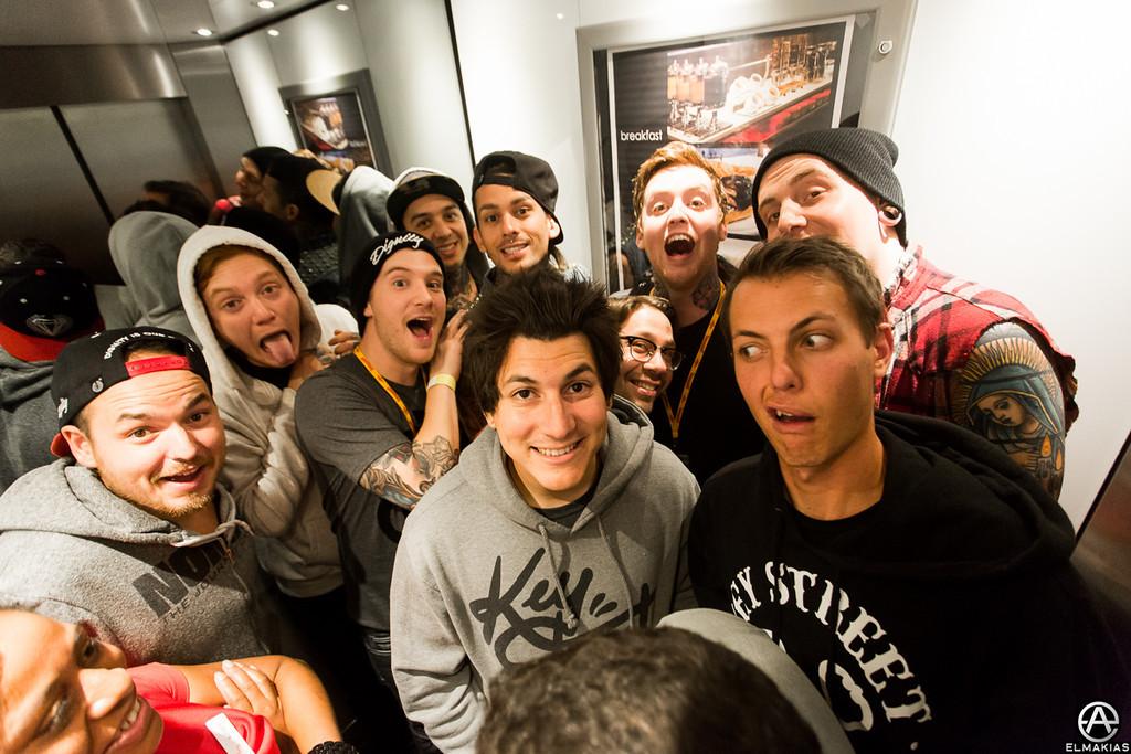 Elevator Party!