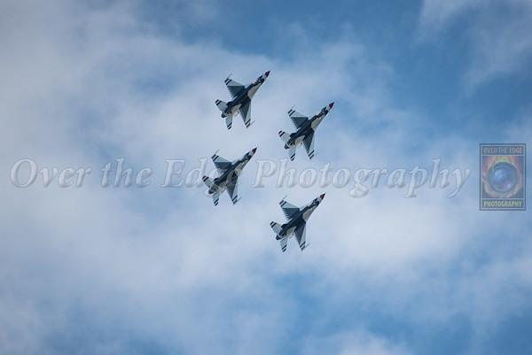 Long Island Air Show Thunderbirds Practice 05/26/2017