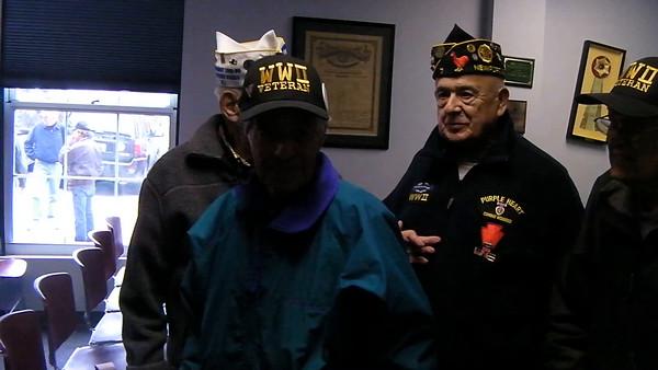 WWII Veterans at Veteran's Day Ceremony 2015
