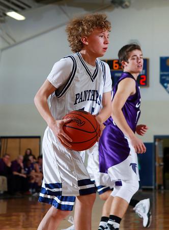 2015 Coudersport Boys JV Basketball @ Northern Potter
