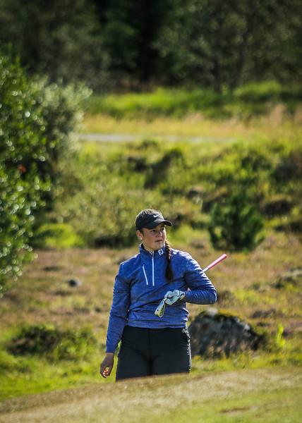 GOS, Heiðrún Anna Hlynsdóttir Íslandsmót í golfi 2019 - Grafarholt 2. keppnisdagur Mynd: seth@golf.is