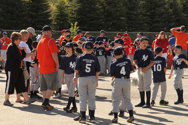 2013 Alden Baseball opening Ceremonies