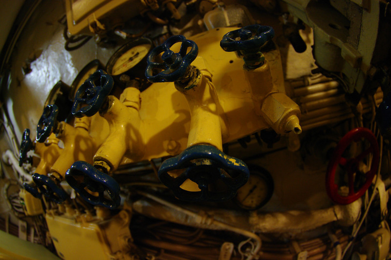 Russian sub, Foxtrot class diesel powered.
