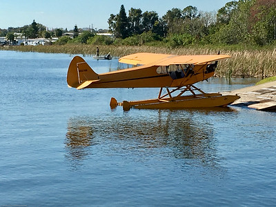 Flying the J3 Cub on Floats