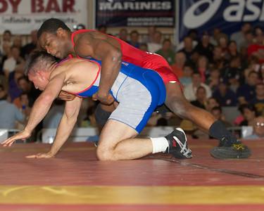 Greco-Roman Championships 74 Kg T. C. Dantzler (Gator WC) def. Kieth Sieracki(U.S. Army)