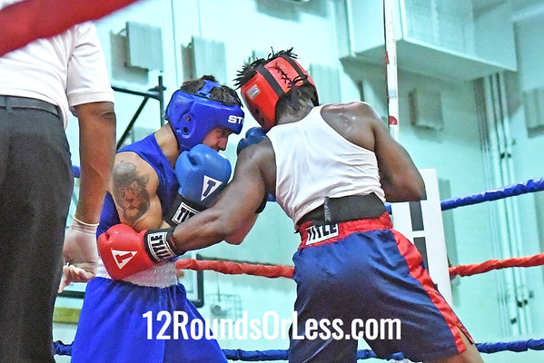 Bout #14: Anthony Savilla, Blue Gloves vs Armond Richard, Red Gloves, 3 min. rds.