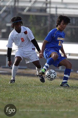 Minneapolis Edison v South Boys Soccer 9-15-11