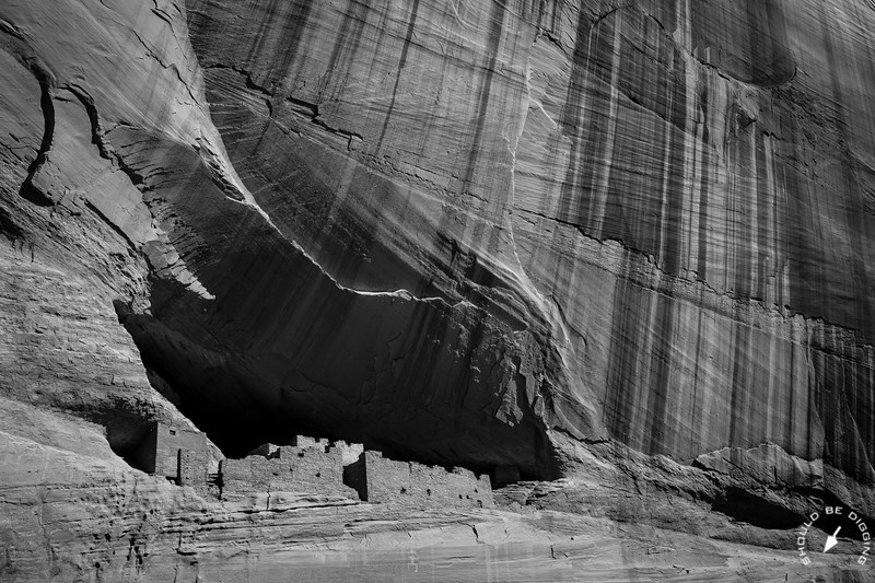 The Upper Ruin of White House Pueblo at Canyon de Chelly, View Two