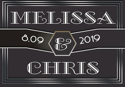 09-08-2019 ~ Melissa and Chris Wedding