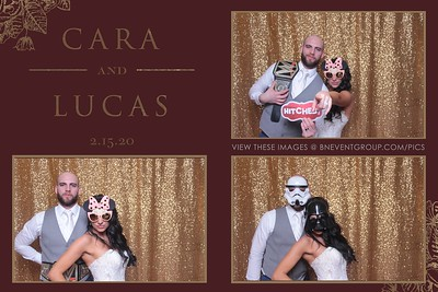 Cara & Lucas @ The Ryland Inn