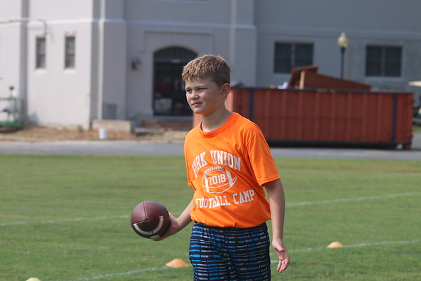 Football Camp - Day 1
