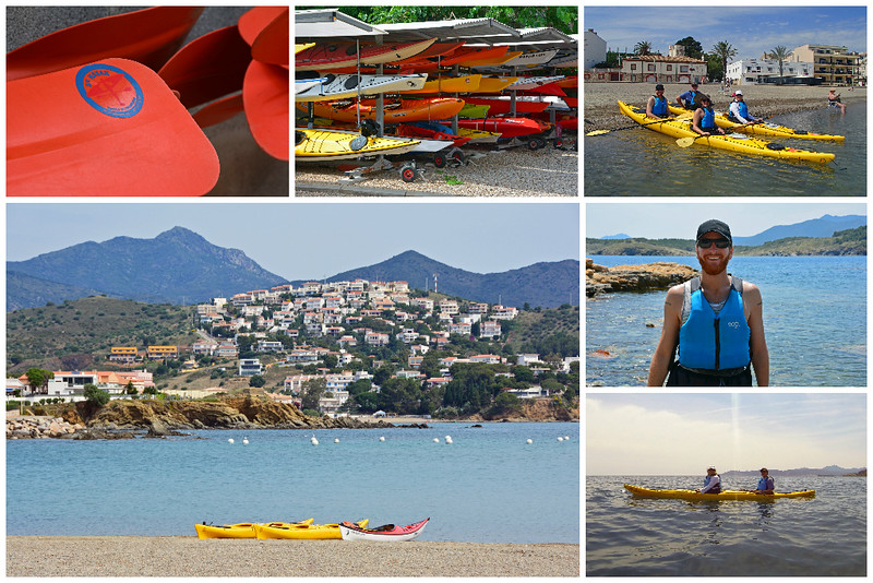 Kayaking in Costa Brava