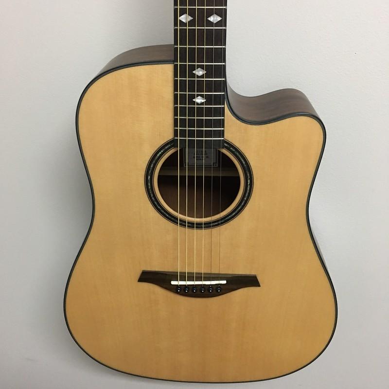 Hohner A+ Dreadnought Guitar A/E Satin