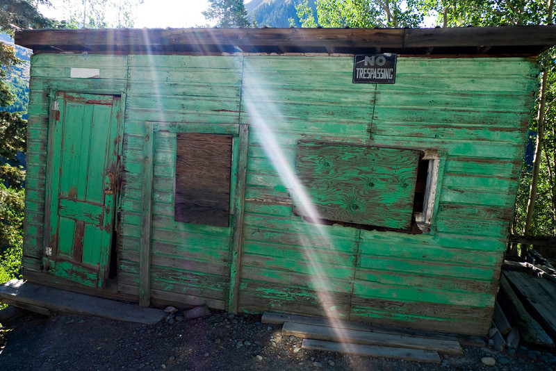 Old shack on the 4x4 Jeep tour.