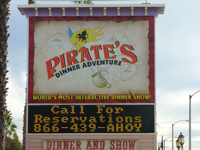 Pirate's Dinner Adventure - Buena Park, 12/10/05