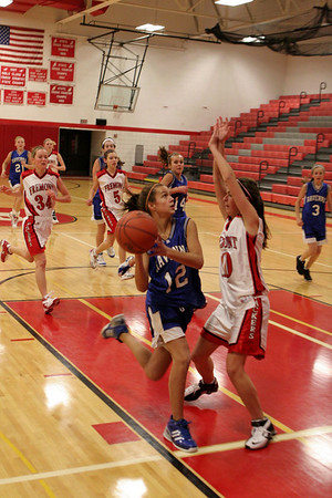 Girls JV Basketball - 2007-2008 - 12/4/2007 Ravenna
