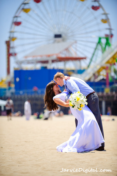 Los Angeles Wedding (June) - Highlights 1st