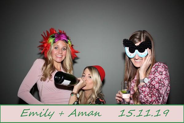 Emily + Aman