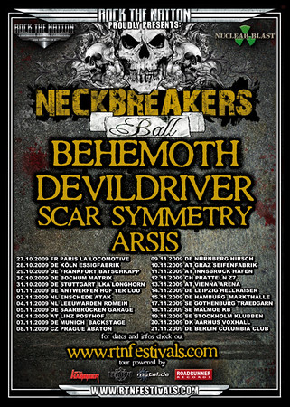 Behemoth - Klubben 19/11 2009