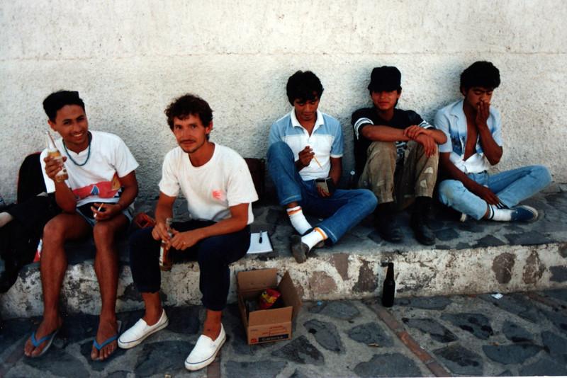 Abe Anaya and friends, Guadalajara, Mexico