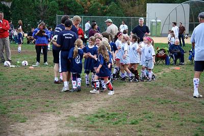 Emma's Soccer Game 10/24/10