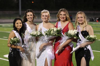 HHS Homecoming Court, 10/15/2021