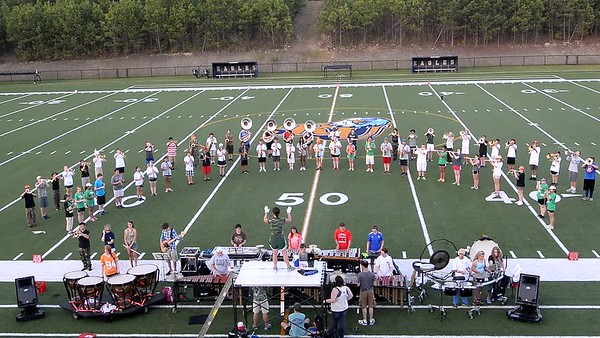 2013-07-28 to 31 Band Camp 2013