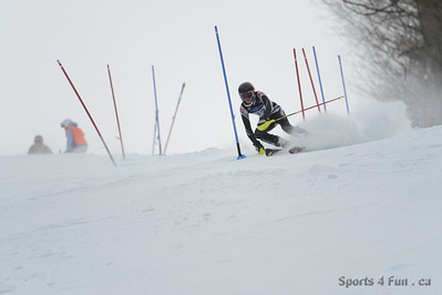 Slalom, Men CAN - QC - SKI BROMONT Fev 17 2013""