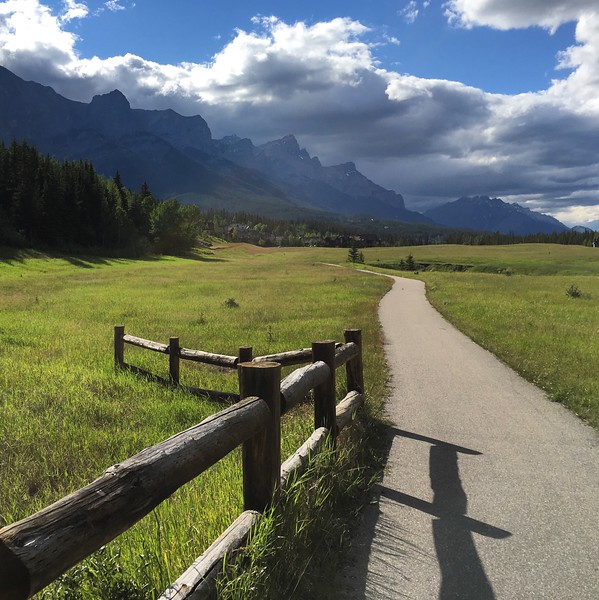 Afternoon run in Canmore