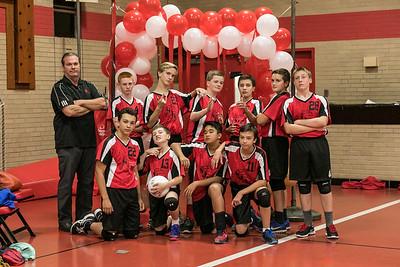 SJA 8th-Grade Boys Volleyball