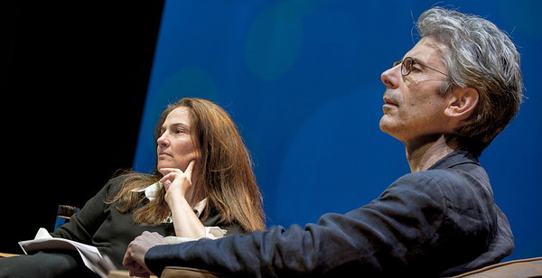 Writer A.M. Homes & Buddhist psychiatrist Mark Epstein in RMA's HAPPY TALK
