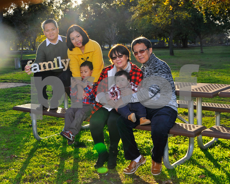 The Santos Family Portrait