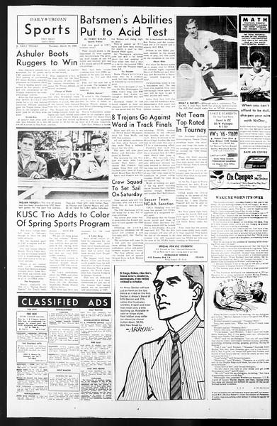Daily Trojan, Vol. 57, No. 85, March 10, 1966