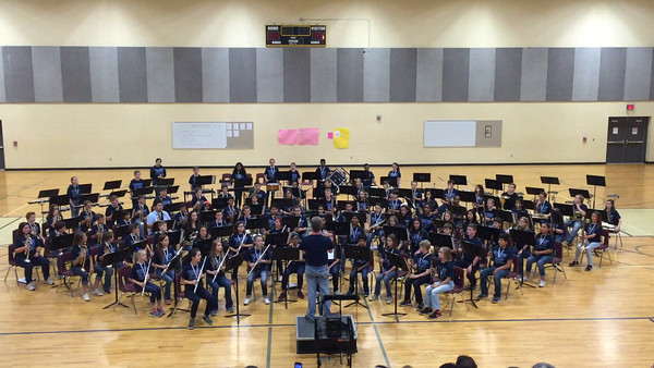 Barker Band Concert (2 songs) - 04/26/2016