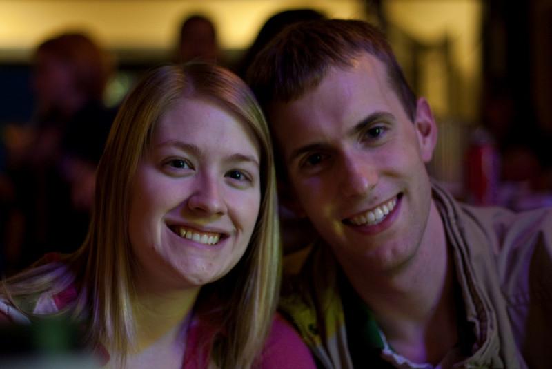 Joel and Meghan